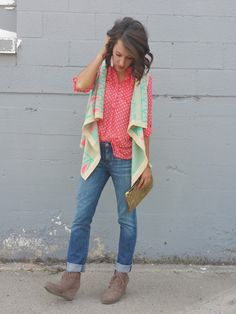 Dressing Up Classy – Bright New Day Vest