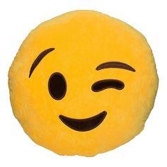 Funny Cute emoji pillow plush pillow coussin cojines emoji gato Round Cushion emoticonos smiley Pillows Stuffed Plush almofada