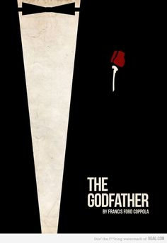 The Godfather Poster The Godfather poster. Wonder what part 2 and 3 should look like in this series. The post The Godfather Poster appeared first on Film. Minimal Movie Posters, Minimal Poster, Cinema Posters, Cool Posters, Simple Poster, Best Movie Posters, The Godfather Poster, Godfather Movie, The Godfather Wallpaper