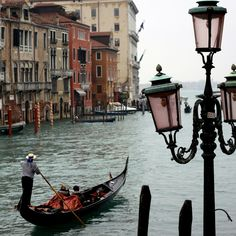 Venice, Italy  This is on my list for traveling the world!