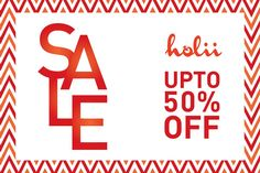 Don't let the season end without finding the right outfit.  Get upto 50% off on selected styles at Holii.