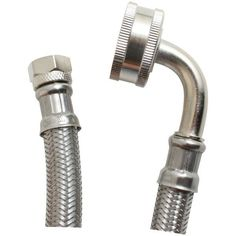 Certified Appliance Dw48Ssl Braided Stainless Steel Dishwasher Connector With Whirlpool(R) Elbow (4Ft)