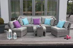 Garten-Lounge-Set Palma, 5-tlg.