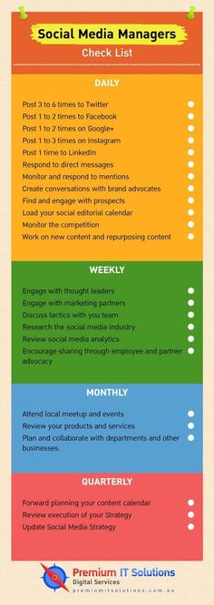 To-Do Social Media Checklist For Business Marketing Activities - Social media checklist for social media managers. How to organize your social media work in daily, weekly, monthly and quarterly manner. Electric Advertising and marketing Explained Inbound Marketing, Marketing Logo, Social Marketing, Marketing Mail, Whatsapp Marketing, Influencer Marketing, Affiliate Marketing, Small Business Marketing, Internet Marketing
