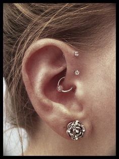 Double forward helix. I might have to do double instead of triple because I have small ears.