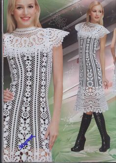 Knitting Crochet Irish Bruges Lace Patterns Dresses Embellishment women's lace top skirt bag Magazine Duplet 95. $6.99, via Etsy.