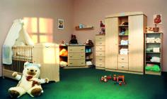Faktum Nelli light blue room for babies / viágoskék Nelli szoba babáknak