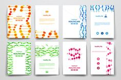 Healthcare Brochures templates by Palau on Creative Market