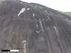Ancient Rock Art Mapped in Amazing Detail, Revealing 100-Foot Snake