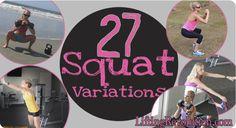 27 squat variations