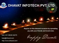 Happy Diwali to all from Dhavat & Family