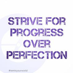Progress not perfection. #mondaymotivation #remixyourworld #dailymomentum Progress Not Perfection, Follow Me On Instagram, Monday Motivation, Words, Quotes, Inspiration, Quotations, Biblical Inspiration, Quote