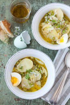 Spring English Pea, Potato and Rice Soup :: Cannelle et VanilleCannelle et Vanille