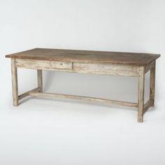 Terrain Farmhouse Dining Table  #shopterrain