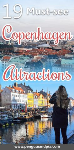 There are lots of things to do in Copenhagen. We list 19 of our favorite things to do and see in the Danish capital. If you're looking for attractions like Nyhavn Harbor or the little mermaid as well as hidden gems, we've got you covered! Europe Travel Tips, New Travel, European Travel, Travel Guides, Travel Destinations, Travel Goals, Visit Denmark, Denmark Travel, Copenhagen Attractions