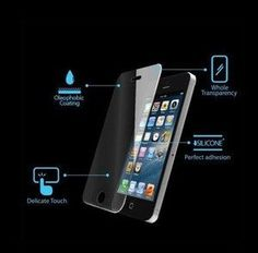 Clear LCD Screen Protector Cover for New Apple iPhone 5