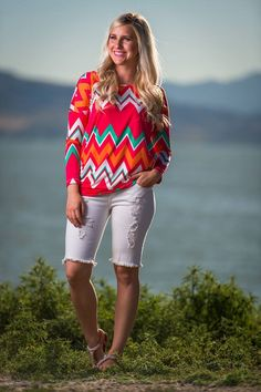 Beautiful Day Tunic Top | SexyModest Boutique