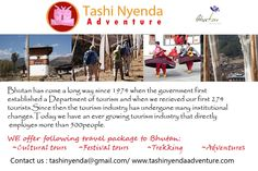 Bhutan Travel, Tours to Bhutan, Bhutan Trekking information