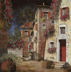Angolo Buio Painting  - Angolo Buio Fine Art Print