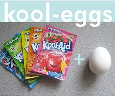 Frugal Life Project: Dye Your Easter Eggs with Kool-Aid!