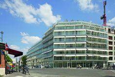 Vivienda social & Residencia para estudicantes Ourcq Jaures / Lacaton & Vassal (Paris, France) #architecture