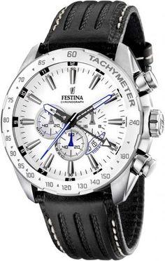 Festina Steel Chronograf | Festina | Watch for men www.lifestyledeluxe.dk