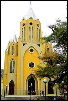 Iglesia San Antonio de Padua, Pregonero, Municipio Uribante, Estado Táchira, Venezuela.