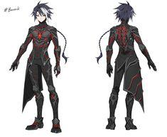 Robot Concept Art, Game Concept Art, Armor Concept, Weapon Concept Art, Character Concept, Character Art, Fantasy Characters, Anime Characters, Anime Boy Hair