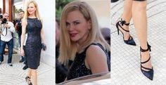 Nicole Kidman abusa do brilho no Festival de Cinema de Cannes - Jurada do 66º Festival de Cinema de Cannes, Nicole Kidman escolhe vestido tubinho para a sessão de fotos antes da abertura do evento. Relembre os vestidos da artista na França!
