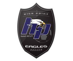custom soccer logo design for the hp eagles soccer by jordan fretz design Basketball Logo Design, Soccer Logo, Hockey Logos, Sports Team Logos, Basketball Teams, Rb Logo, Construction Logo, Athletics, Branding