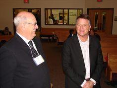 Mayor Fred Nash and David Chilton Business Innovation, Conference, Suit Jacket, David, Fashion, Moda, Fashion Styles, Jacket, Fashion Illustrations