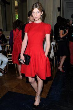 Diane Kruger at Couture Fashion Week July 2012 Photo 9