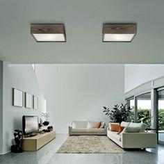 Madera Quadrata - Linea Light - Soffitto - Progetti in Luce 40x40 178 €