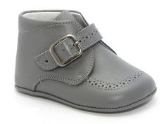 5434. Classic Baby Plain Leather Boot