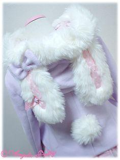 Angelic Pretty bunny coat