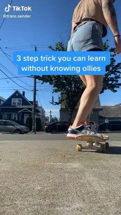 Beginner Skateboard, Skateboard Videos, Penny Skateboard, Skateboard Design, Skateboard Girl, Skates, Skater Look, Skate Photos, Skater Girl Outfits