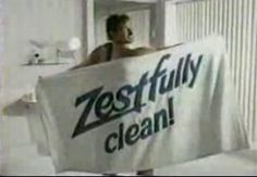 80s Zest commercial - You're not fully clean unless you're Zestfully Clean!