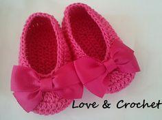 Zapatillas Para Bebes Tejidas al Crochet!!!