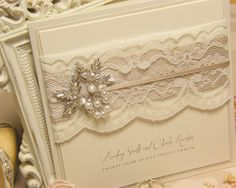 Beautiful Vintage Lace Wedding Invitations And Get Ideas How To Make Your Weddin. Trendy 2019 - Wedding Invitations Trends 2019 - Nail polish patterns that you can do with the nails arts friends look at the hands of . Vintage Wedding Invitations, Elegant Invitations, Wedding Stationary, Wedding Invitation Cards, Invitation Ideas, Vintage Wedding Cards, Vintage Lace Weddings, Wedding Cards Handmade, Engagement Cards