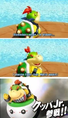 Baby Bowser gets his chance #SuperSmashBros