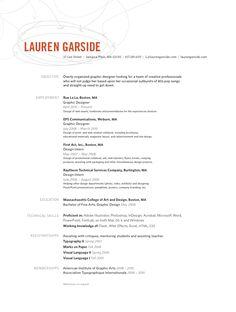 Lauren Garside, graphic designer