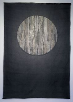 Termagant - Jessica Rankin - 2009 - 84 x 58 inches, Embroidery on organdy.
