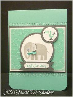 """Stampin' Up! """"Zoo Babies"""" stamp set"""