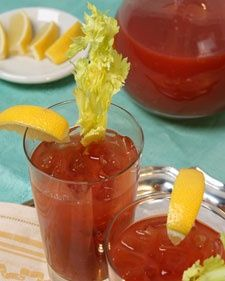 Martha Stewart  Bloody Marys