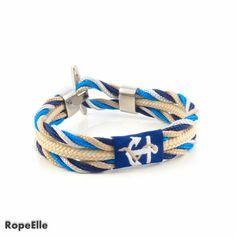Items similar to Vibe Bracelet/Unisex Bracelet/Nautical Bracelet/Silver Jewelry/Paracord Bracelet/Rope Bracelet/Pulsera/Armband/Gift Bracelet/Couple Bracelet on Etsy Couple Bracelets, Bracelets For Men, Handmade Bracelets, Handmade Jewelry, Unique Jewelry, Nautical Bracelet, Nautical Rope, Marine Rope, Cool Things To Buy