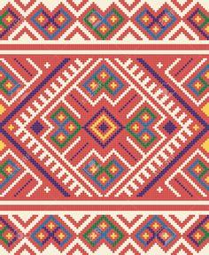 Oekraïense Etnische Naadloze Ornament, # 65, Vector Royalty Vrije Cliparts, Vectoren, En Stock Illustratie. Image 10449086.