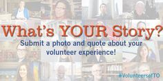 campaign from Volunteer Toronto Media Campaign, Awareness Campaign, Non Profit, Your Story, How To Apply