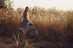 Veronika - Veronika Bicycle, Casual, Pretty, Beauty, Bicycles, Bicycle Kick, Beleza, Bike, Trial Bike