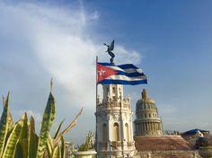 La vue depuis l'hôtel D'Inglaterra - La Habana Vieja #Cuba