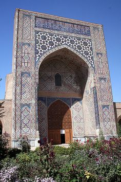 The Registan, Samarkand, Uzbekistan ~ created by Tamerlane in the 14th century and restored by the Soviets.